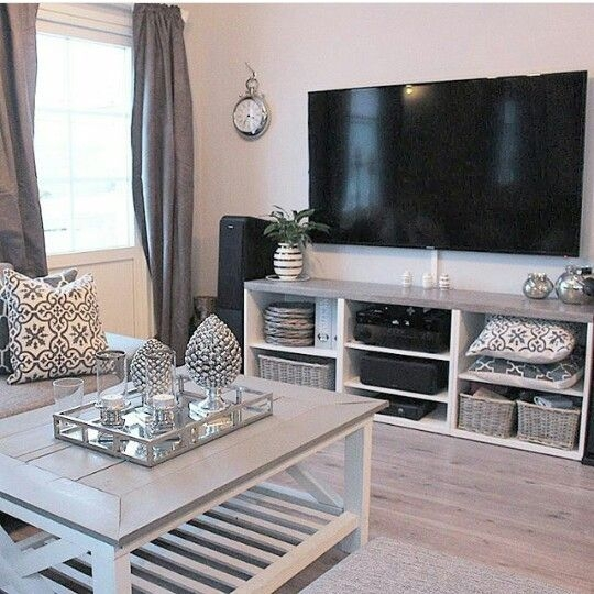 50 photos wall mounted tv stands entertainment consoles - Hanging tv on wall ideas ...