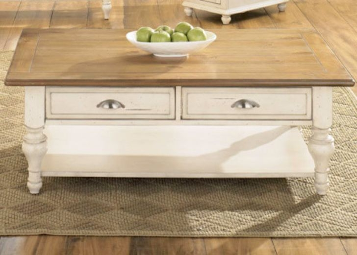 Stunning Wellliked White Cottage Style Coffee Tables Inside White Cottage Coffee Table Biantable (Image 46 of 50)