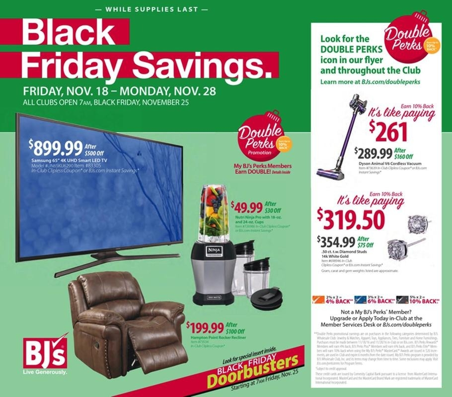 Stunning Widely Used Bjs TV Stands Within Bjs Black Friday 2017 Ads Deals And Sales (Image 49 of 50)