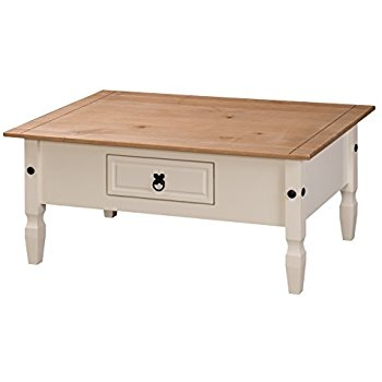 Stunning Widely Used Cream And Oak Coffee Tables In Newcam Wooden Coffee Table Medium Natural Oak And Cream Amazon (Image 37 of 40)