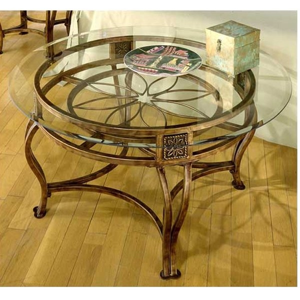 Stunning Widely Used Iron Glass Coffee Table Intended For Hillsdale Scottsdale Coffee Table Reviews Wayfair (View 18 of 50)