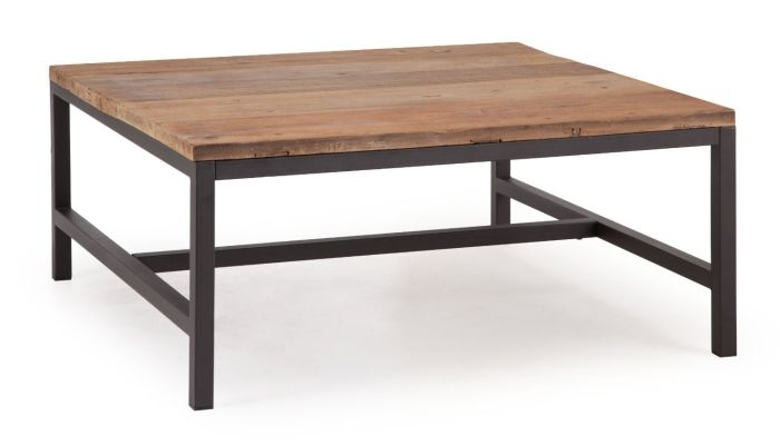 Stunning Widely Used Large Wood Coffee Tables Within Sophisticated Large Wood Coffee Table With Metal Base (Image 44 of 50)