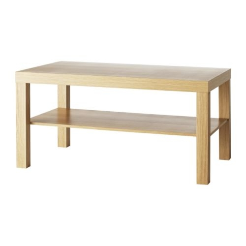 Stunning Widely Used Oak Coffee Table With Shelf Intended For Lack Coffee Table Oak Effect 90×55 Cm Ikea (View 27 of 50)