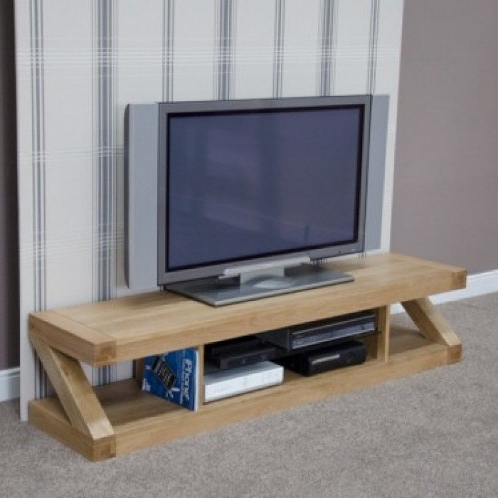 Stunning Widely Used Oak TV Stands Throughout Tv Stands Mobile Flat Panel Tv Stand 2017 Collection Best Buy Tv (Image 45 of 50)