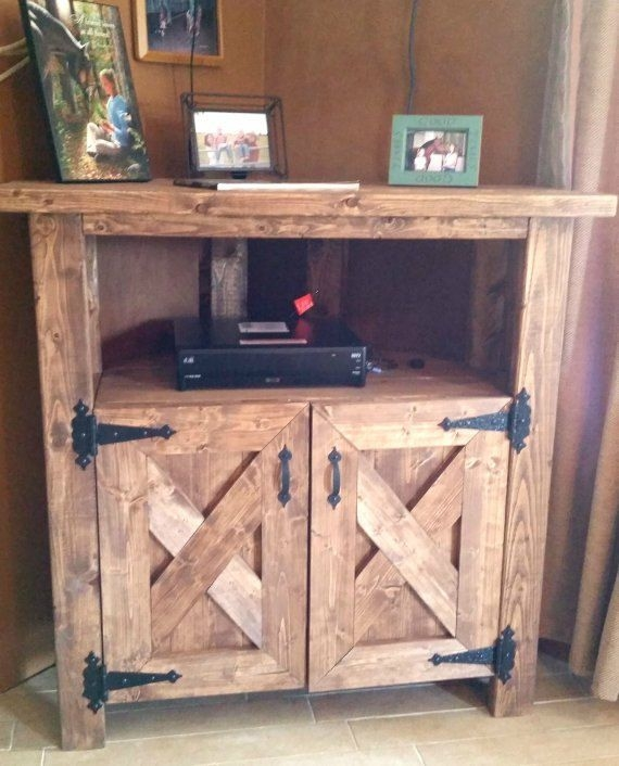 Stunning Widely Used Rustic Corner TV Cabinets Throughout Best 25 Corner Tv Cabinets Ideas Only On Pinterest Corner Tv (Image 46 of 50)