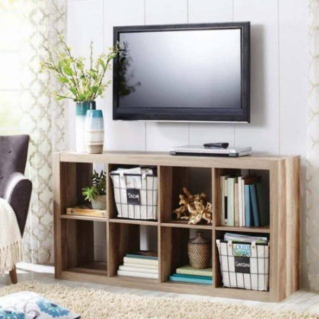Stunning Widely Used TV Stands With Baskets With Regard To Tv Stands Great Unfinished Rustic Tv Stands For Flat Screens (Photo 33 of 50)