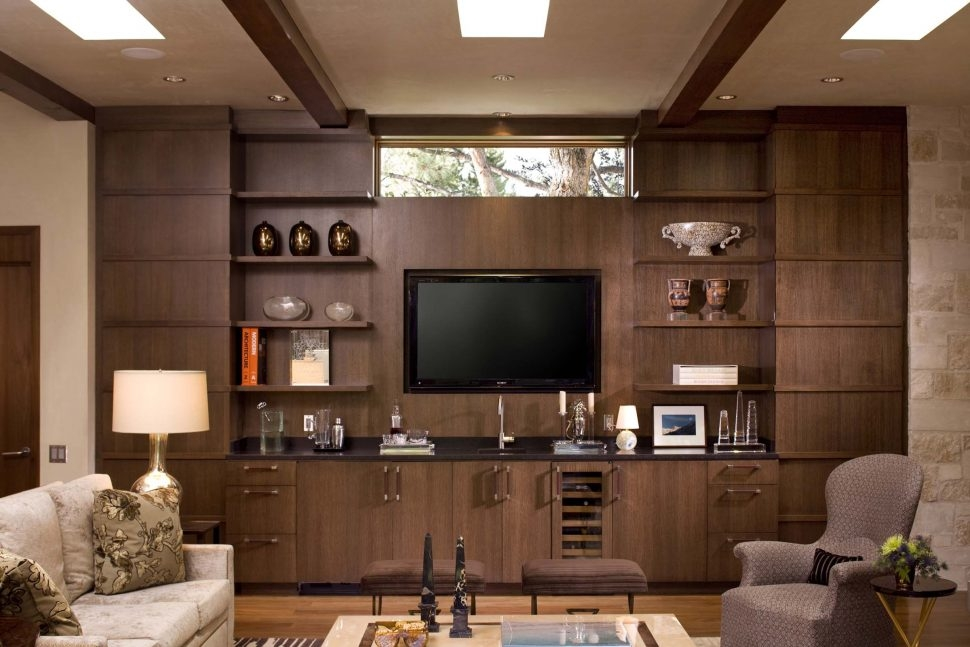 Stunning Widely Used Unusual TV Cabinets Within Living Room Unusual Living Room Ideas With Big Tv On Wall And (Image 45 of 50)
