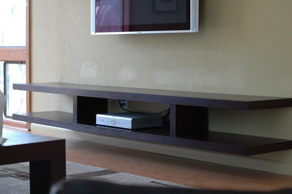 Stunning Widely Used Wall Mounted TV Stands With Shelves With Regard To Wall Mount Tv Stands With Shelves Home Design Ideas (Image 49 of 50)
