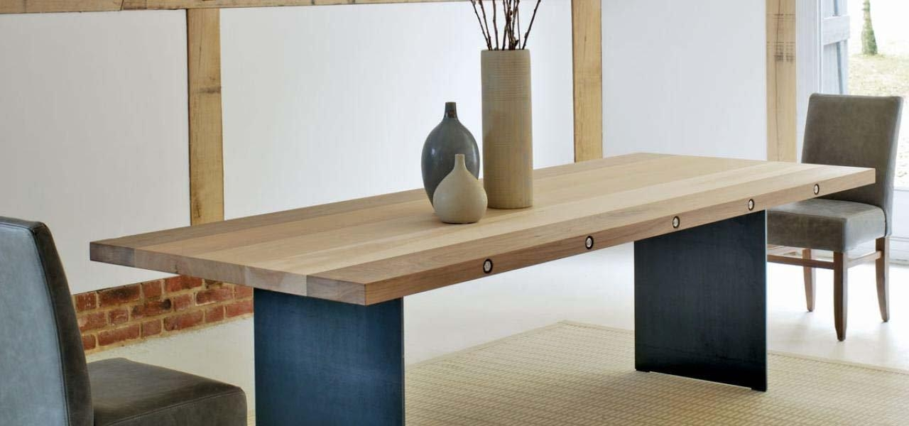 Stylish Ideas Solid Wood Extendable Dining Table Mesmerizing Inside Extending Oak Dining Tables (Image 20 of 20)