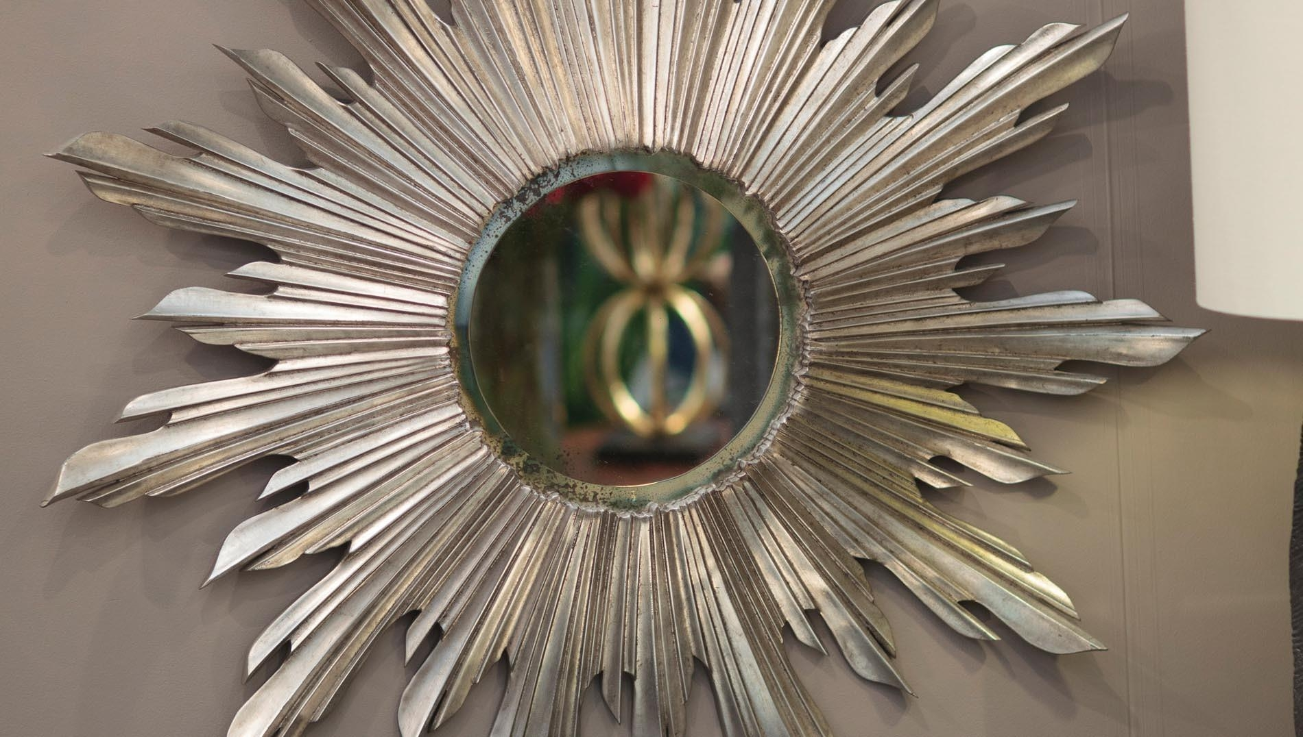 Featured Image of Bronze Starburst Mirror