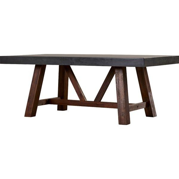 Sunpan Modern Mixt Cooper Dining Table & Reviews | Wayfair (View 17 of 20)