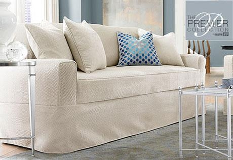 Sure Fit – Category Inside Armless Couch Slipcovers (Image 17 of 20)