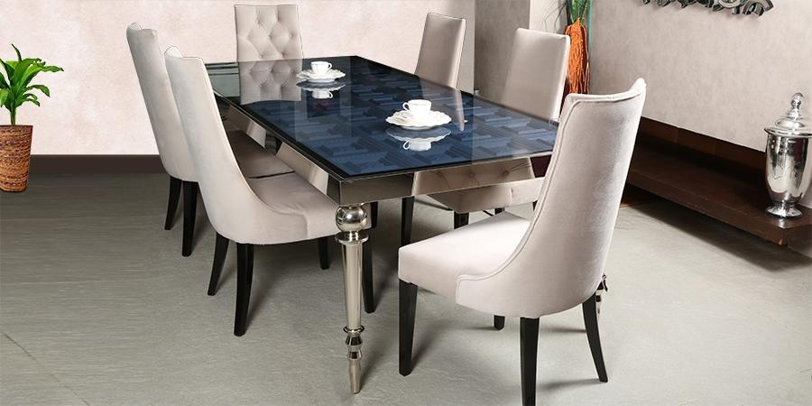 Surprising 6 Seat Dining Room Table Pictures – 3D House Designs Regarding 6 Seater Glass Dining Table Sets (Image 20 of 20)