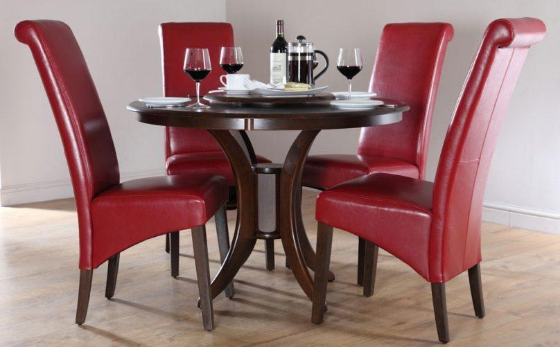 red and black dining room sets | Top 20 Red Dining Table Sets | Dining Room Ideas