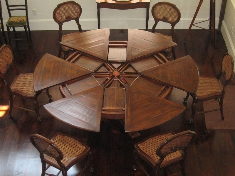 Sweet Large Round Dining Table | All Dining Room Pertaining To Large Circular Dining Tables (Image 18 of 20)