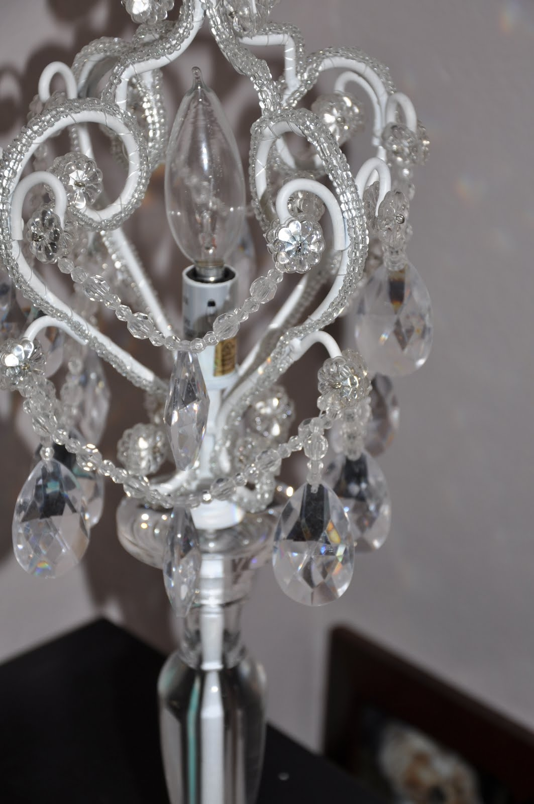 Tadpoles Table Lamp Chandelier Best Of Table Lamp Inspiration Throughout Mini Chandelier Table Lamps (Image 22 of 25)