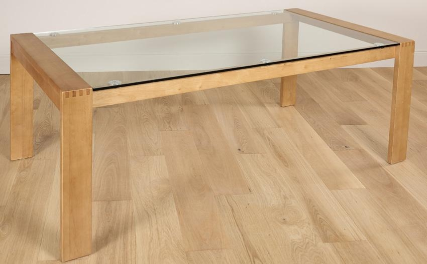 Tate Oak And Glass Dining Table 180Cm Only £ (Image 19 of 20)