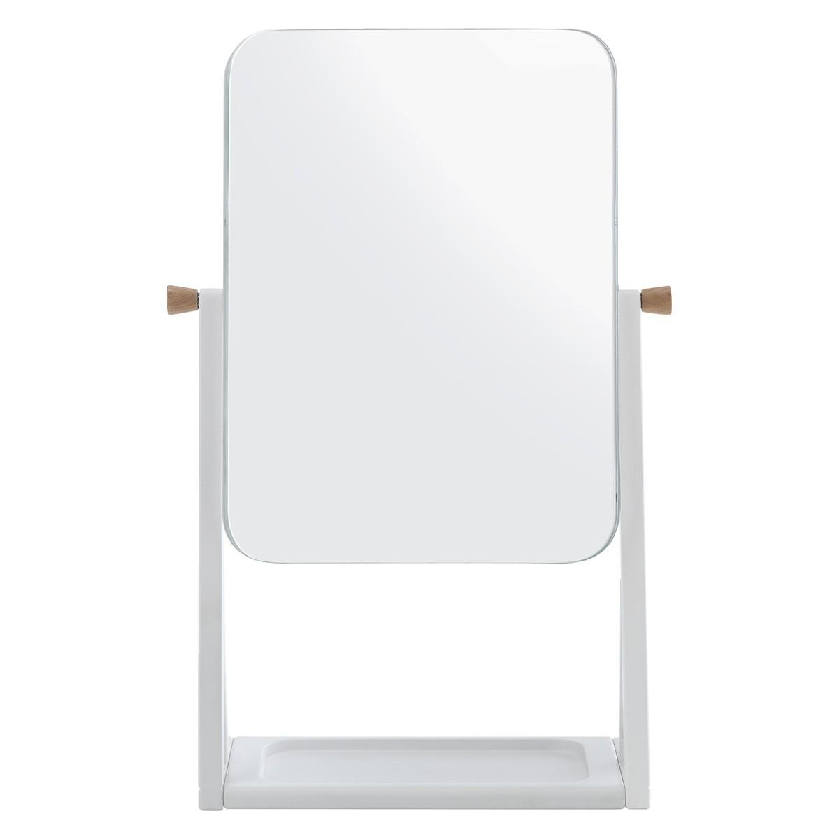 Tatsuma White Dressing Table Mirror | Buy Now At Habitat Uk In Dressing Table Mirror (Image 17 of 20)