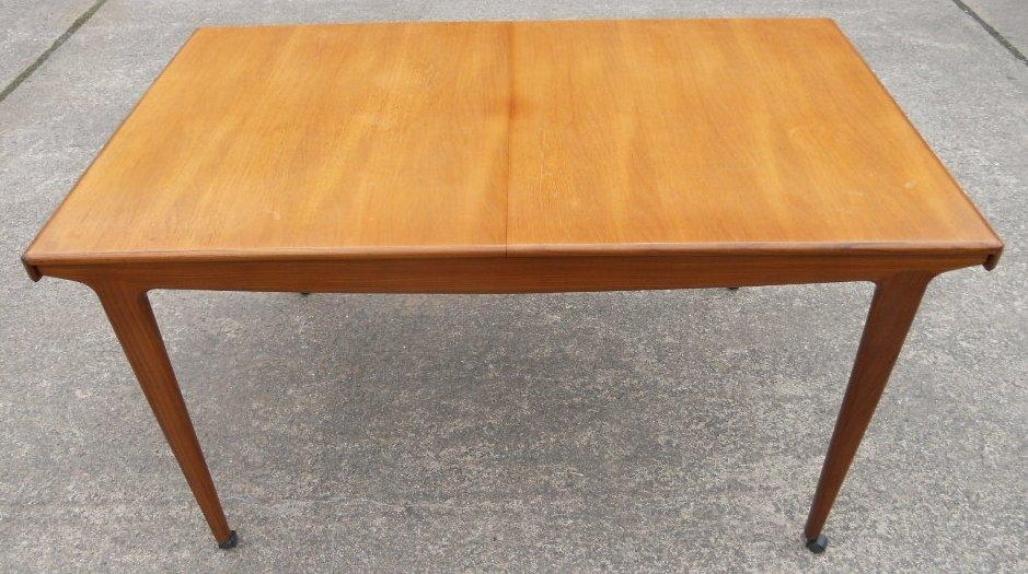 Teak Retro 1960 S Extending Dining Table To Seat Eight – Sold Within Retro Extending Dining Tables (View 19 of 20)