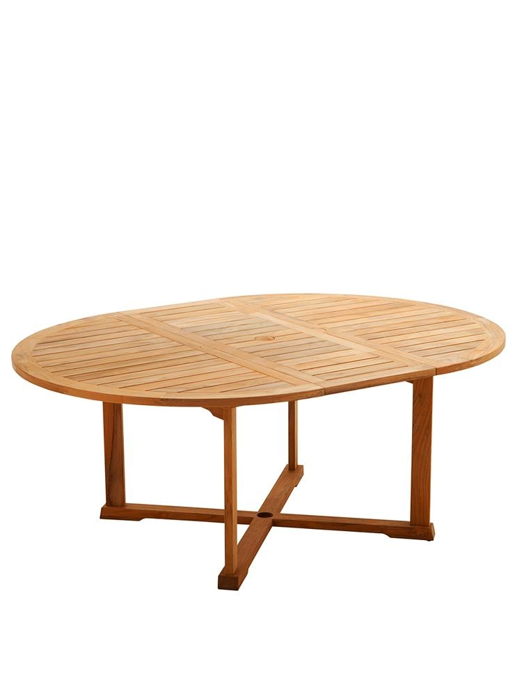 Teak Tablesgloster Pertaining To Round Extending Dining Tables (View 10 of 20)