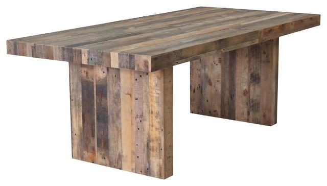 Terra Nova Dining Table Rustic Pine – Rustic – Dining Tables Cdi For Rustic Dining Tables (View 9 of 20)