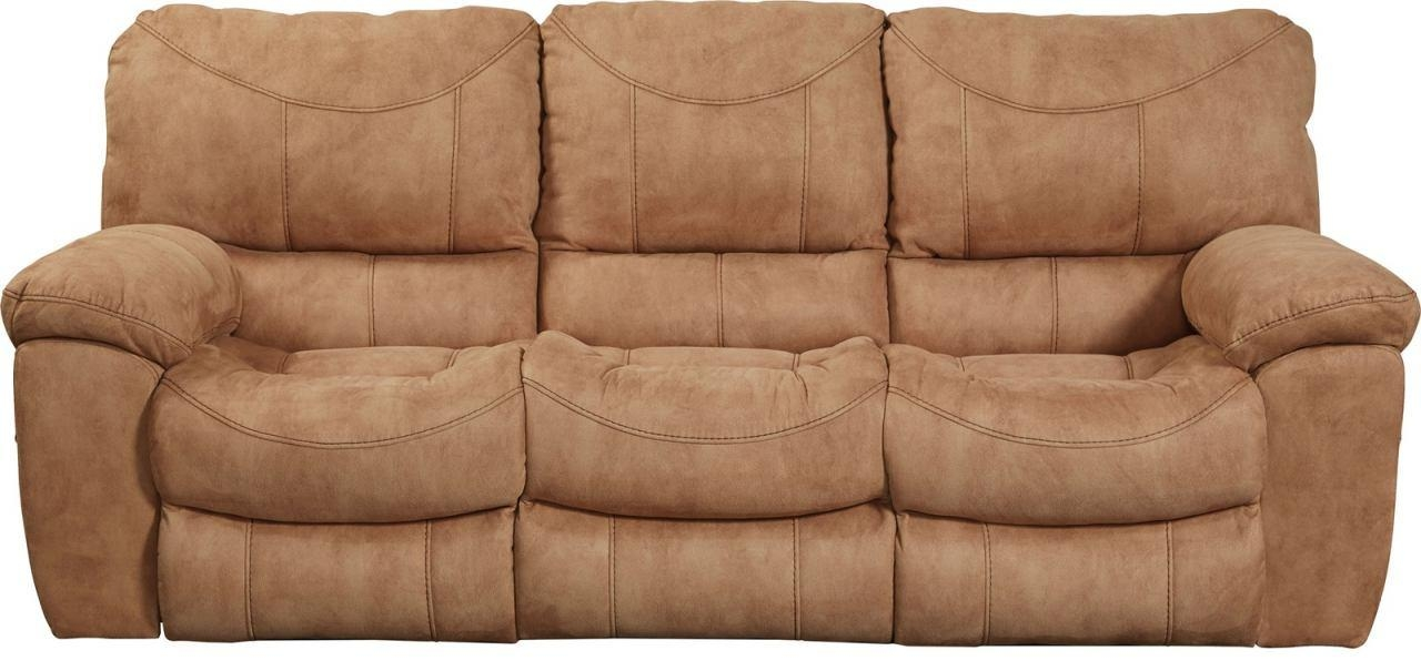 Terrance Reclining Sofa In Caramel 1581 For Catnapper Reclining Sofas (Image 17 of 20)