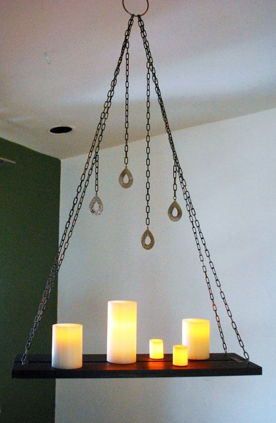 The 25 Best Hanging Candle Chandelier Ideas On Pinterest Regarding Hanging Candle Chandeliers (Image 23 of 25)