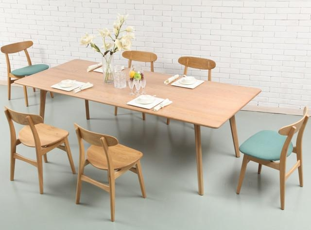 The 39Taper Table39 Concrete And Steel Dining Table Scandinavian For Danish Style Dining Tables (Image 20 of 20)