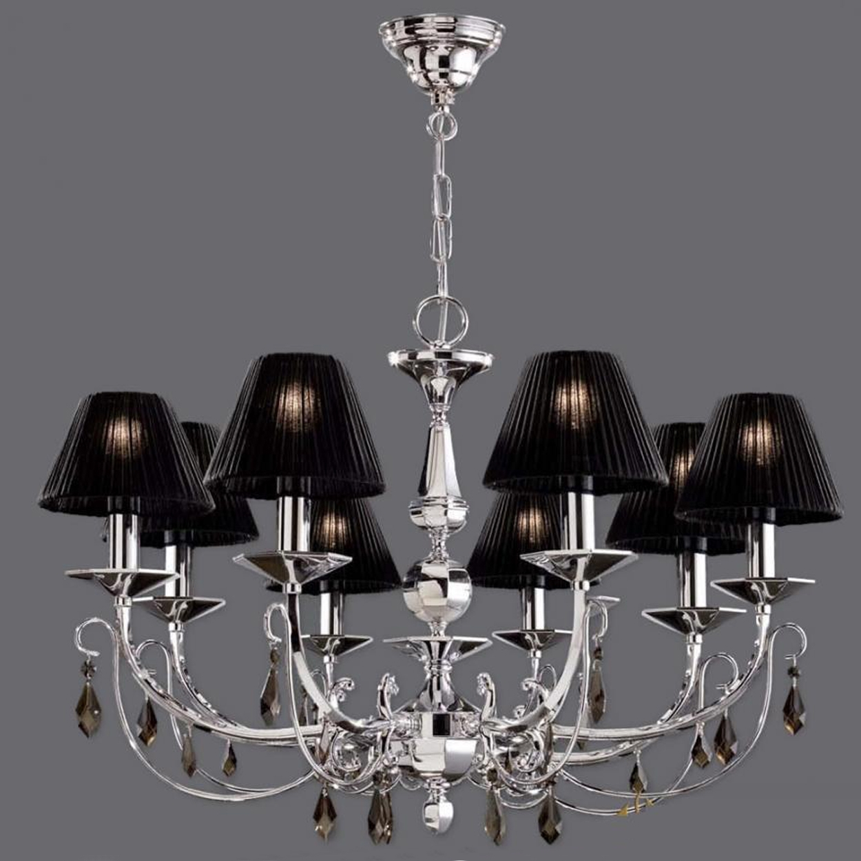The Attractive Types Of Chandelier Lamp Shades Lgilab Inside Chandelier Lamp Shades (Image 20 of 25)
