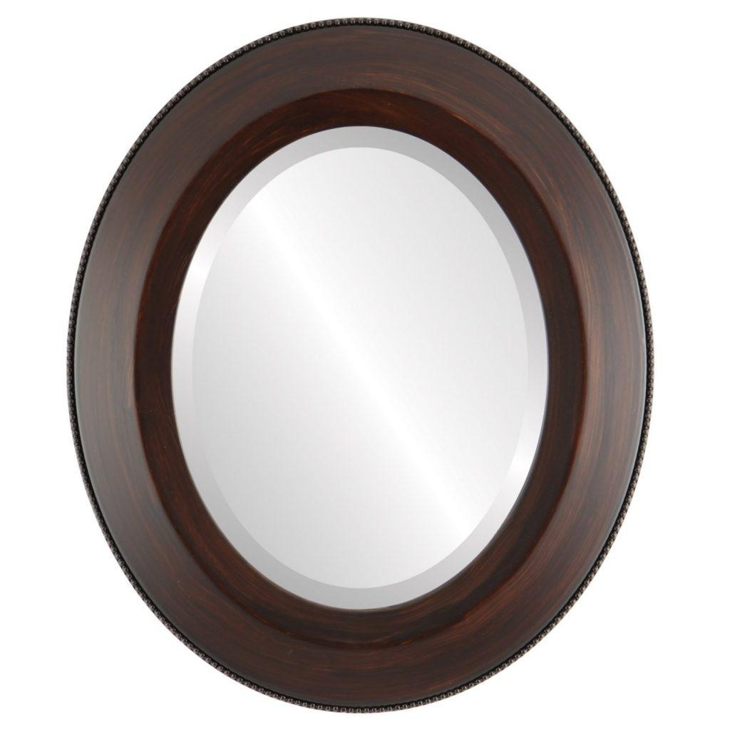 The Best Oval Mirrors For Your Bathroom | Decor Snob Throughout Bevelled Oval Mirror (Image 16 of 20)