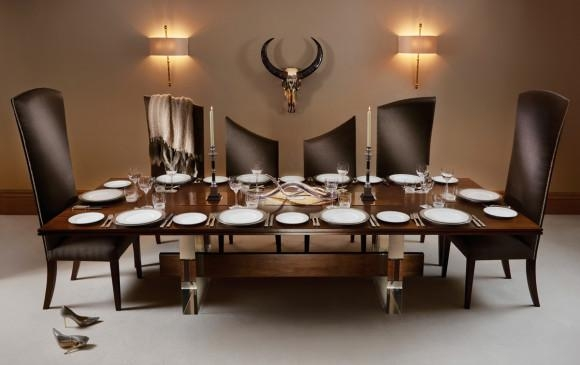 The Curve', 10 Seater Dining Table And Chairs From The Posh Inside 10 Seat Dining Tables And Chairs (Image 20 of 20)