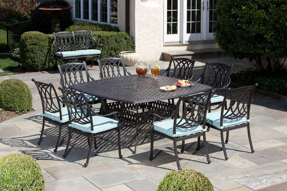 20 Inspirations 8 Seat Outdoor Dining Tables Dining Room