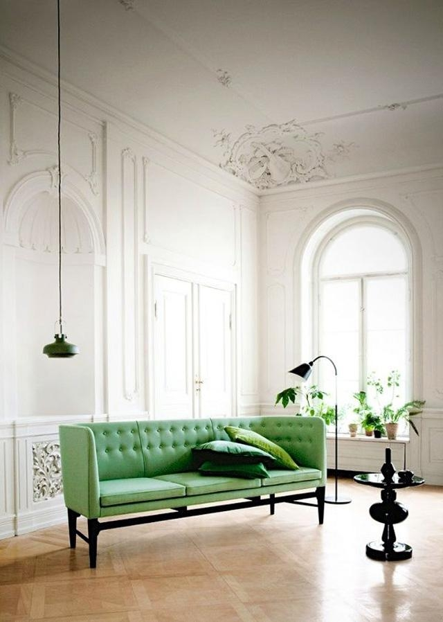 The Great Green Sofa For Emerald Green Sofas (Image 19 of 20)