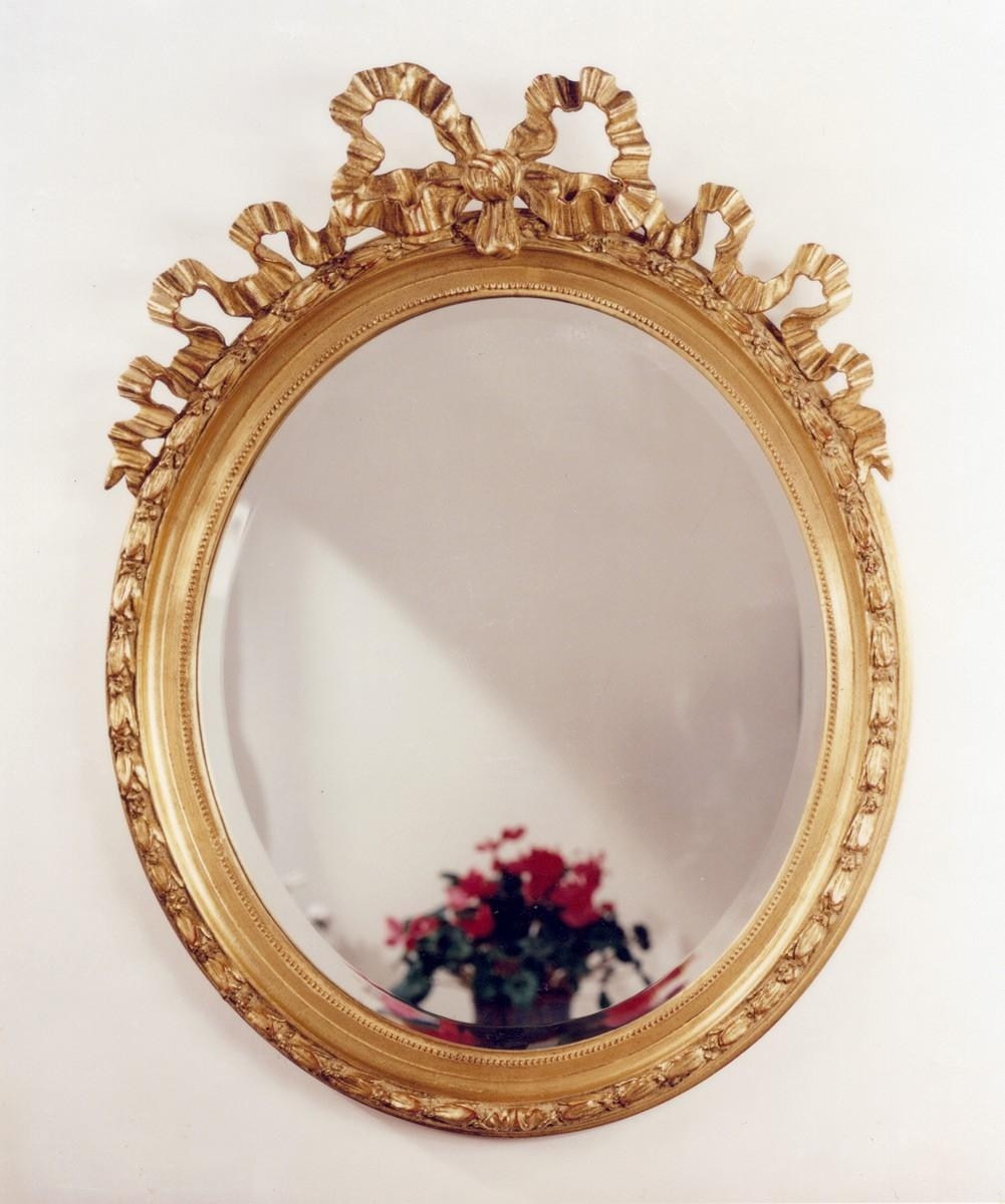 The Well Appointed House – Luxuries For The Home – The Well Intended For Gold Wall Mirrors (Image 16 of 20)