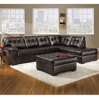 This Is My Sectional!! I Love It!! :))) So Excited!!! Simmons Regarding Big Lots Leather Sofas (View 3 of 20)