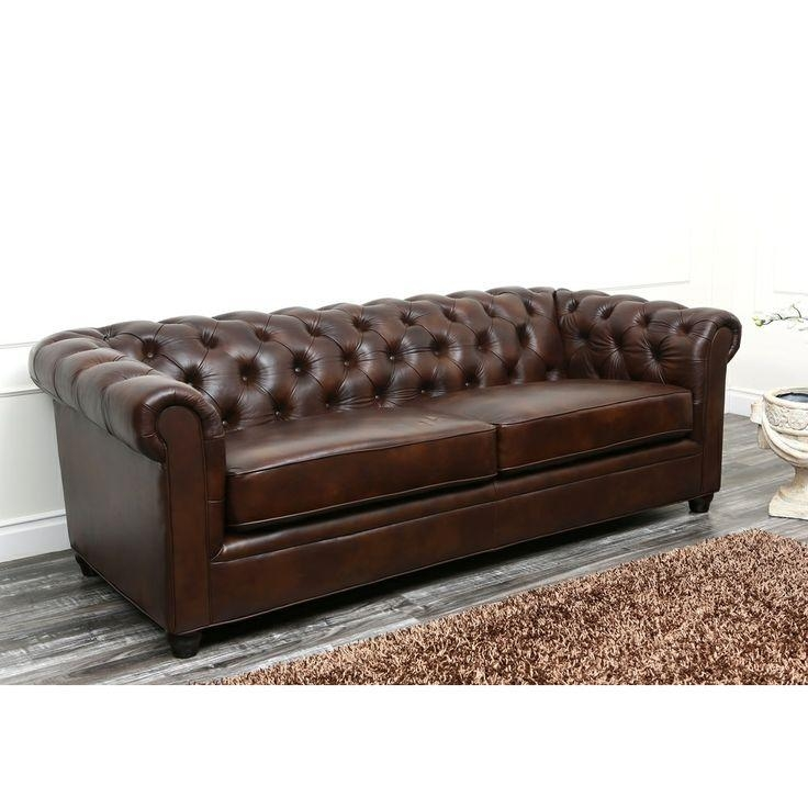 Delicieux Tight Back Leather Sofa | Sanblasferry Within Abbyson Sofas (Image 20 Of 20)