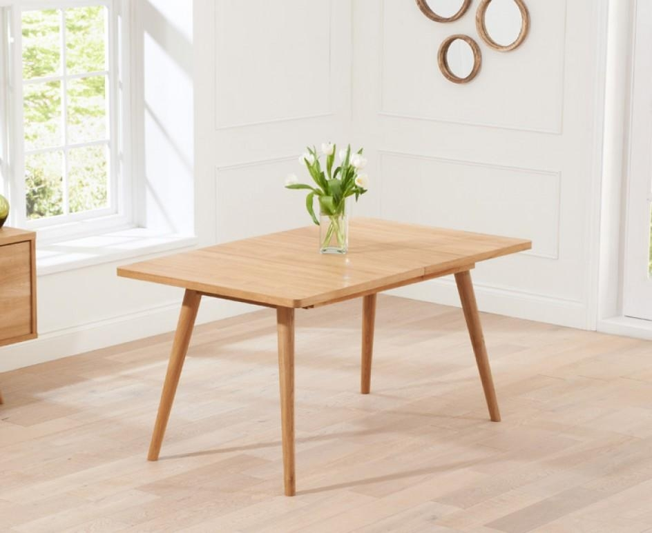 Tivoli 150Cm Retro Oak Extending Dining Table | The Great With Regard To Retro Extending Dining Tables (View 3 of 20)