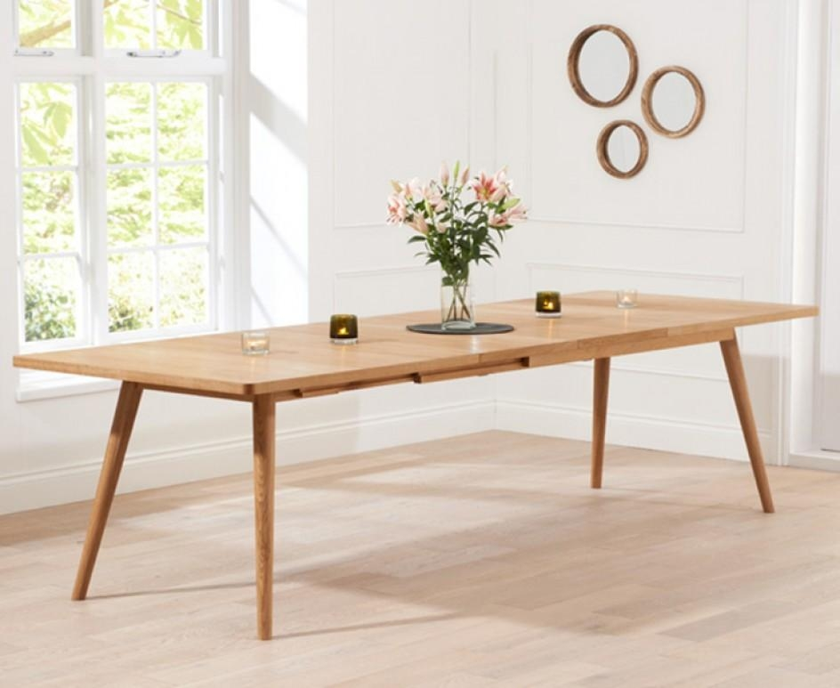Tivoli 200Cm Retro Oak Extending Dining Table | The Great In Retro Extending Dining Tables (View 4 of 20)