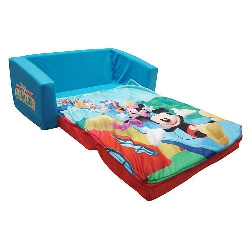 Toddler Fold Out Sofa Inside Mickey Flip Sofas (Image 19 of 20)
