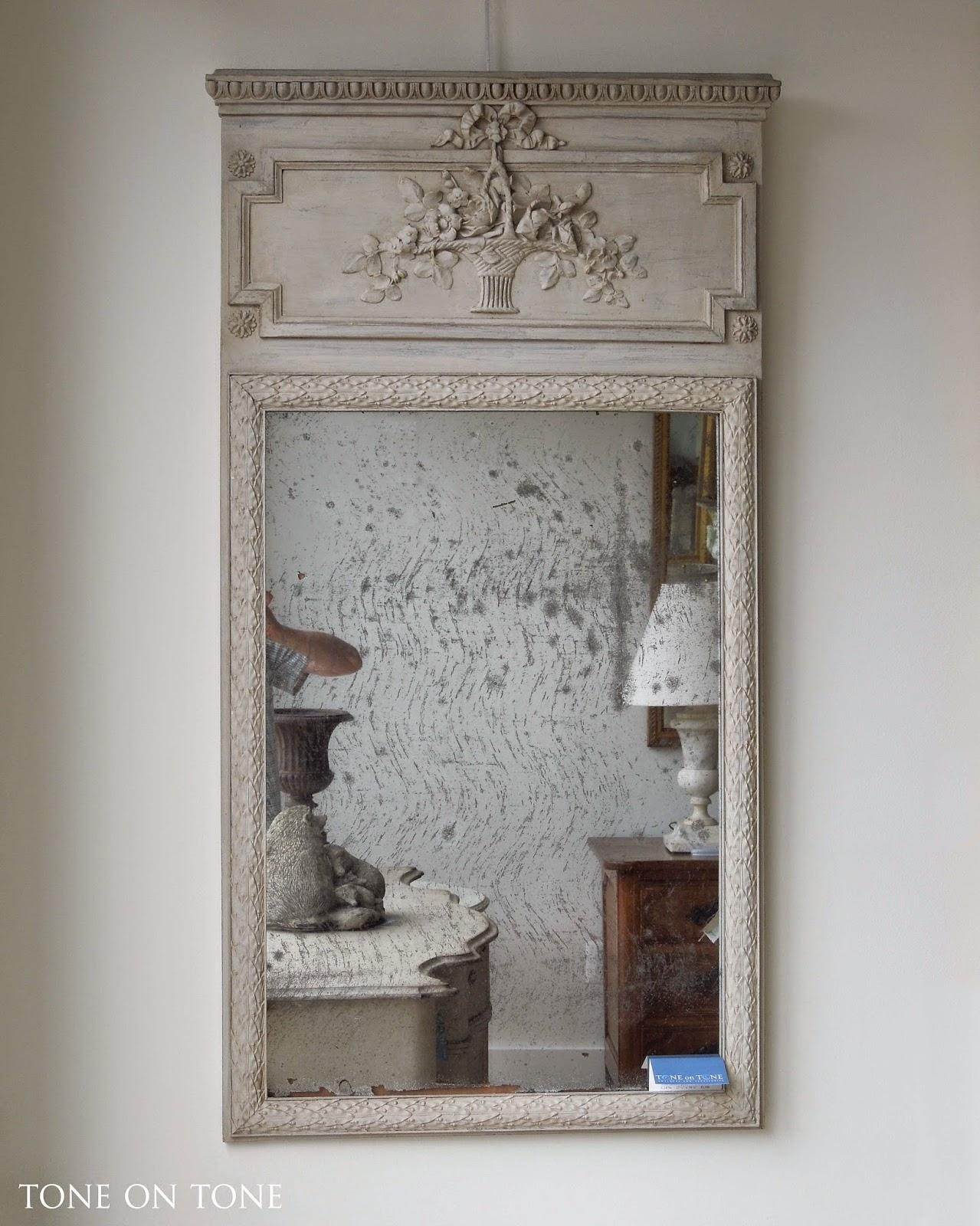 Tone On Tone: May 2015 Regarding French Mirrors Antique (Image 19 of 20)