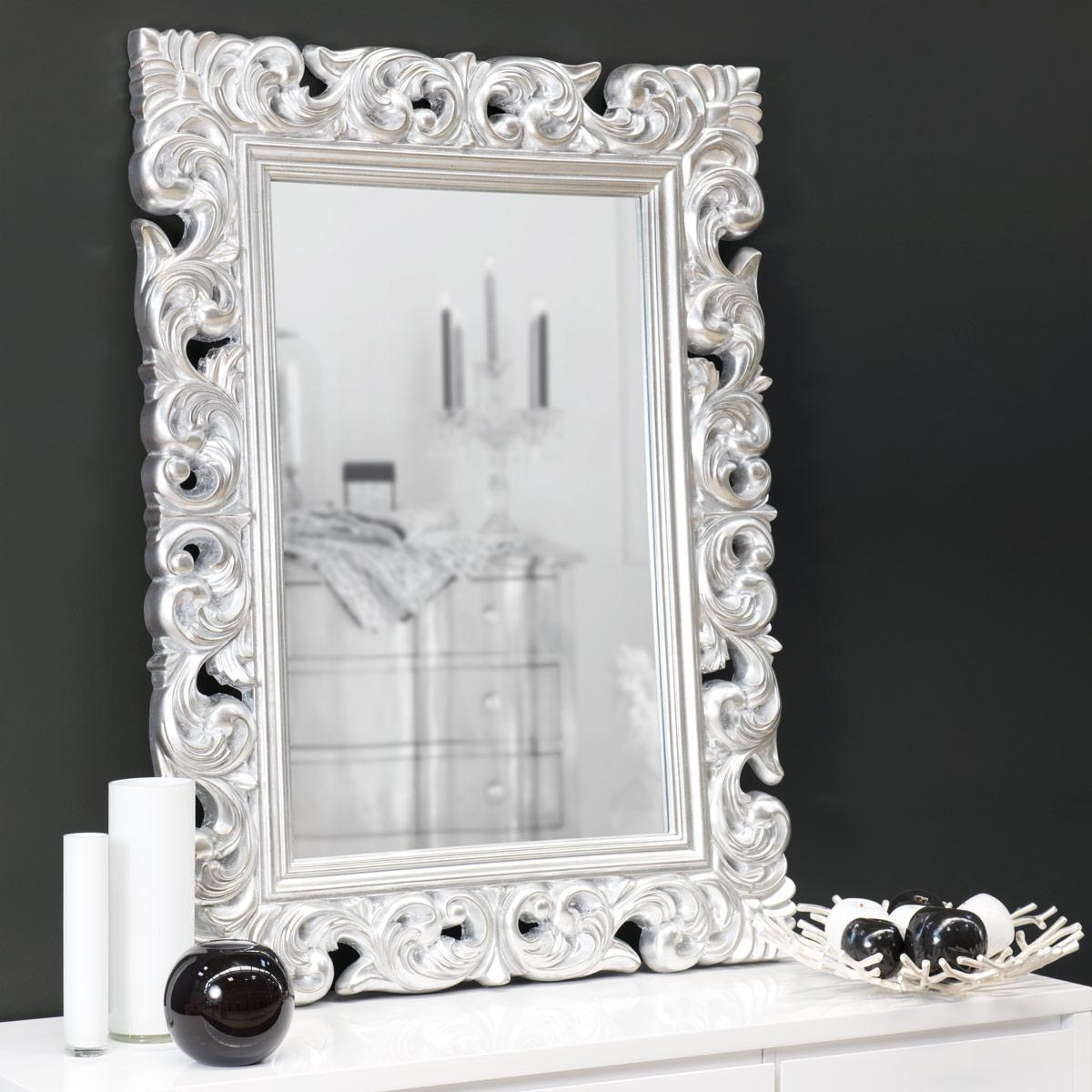 Top 15 Decorative Mirror Designs | Mostbeautifulthings In White Decorative Mirrors (View 1 of 20)