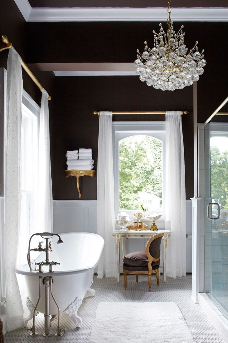 Top 25 Best Bathroom Chandelier Ideas On Pinterest Master Bath Regarding Bathroom Chandelier Lighting (Image 22 of 25)