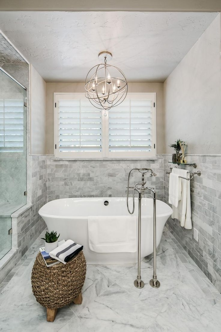 Top 25 Best Bathroom Chandelier Ideas On Pinterest Master Bath Regarding Chandelier Bathroom Lighting (Image 22 of 25)