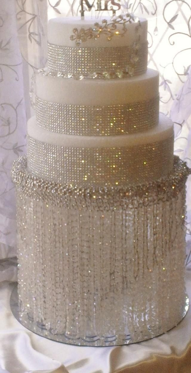 Top 25 Best Chandelier Cake Stand Ideas On Pinterest Silver With Stand Up Chandeliers (Image 25 of 25)