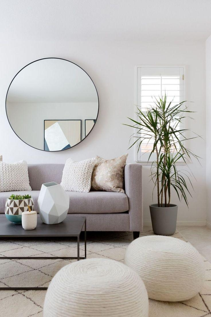 Top 25+ Best Circle Mirrors Ideas On Pinterest | Large Hallway Within Large Round Silver Mirror (Image 19 of 20)