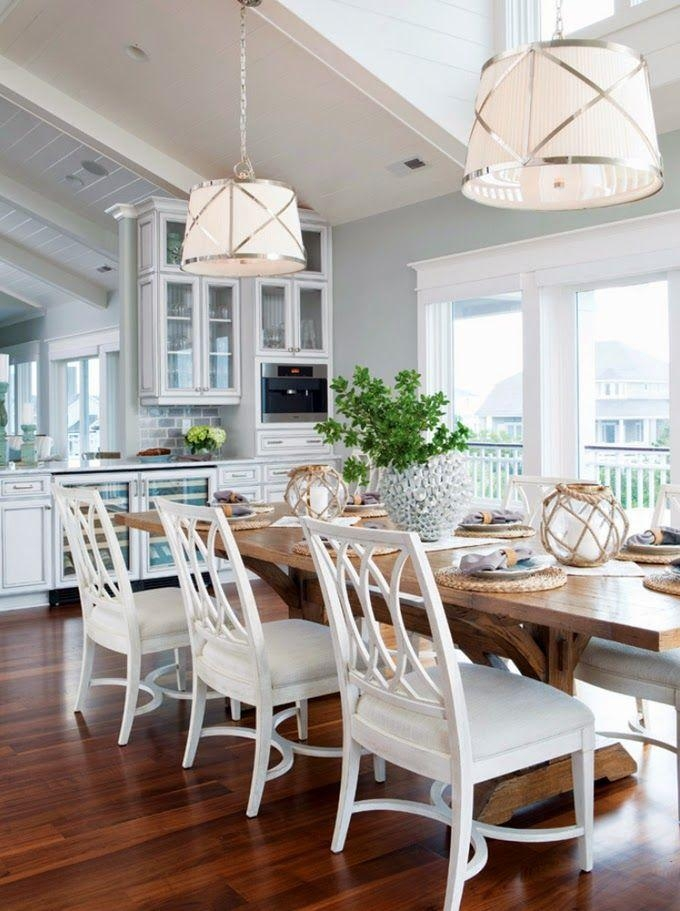 Top 25+ Best Coastal Dining Rooms Ideas On Pinterest | Beach Inside Coastal Dining Tables (Image 20 of 20)