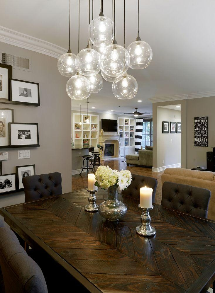 Top 25+ Best Dining Room Lighting Ideas On Pinterest | Dining Room Regarding Lights For Dining Tables (Image 19 of 20)