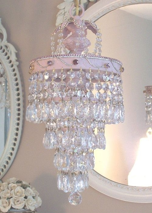 Top 25 Best Girls Chandelier Ideas On Pinterest Mobiles Girls With Pink Plastic Chandeliers (Image 25 of 25)