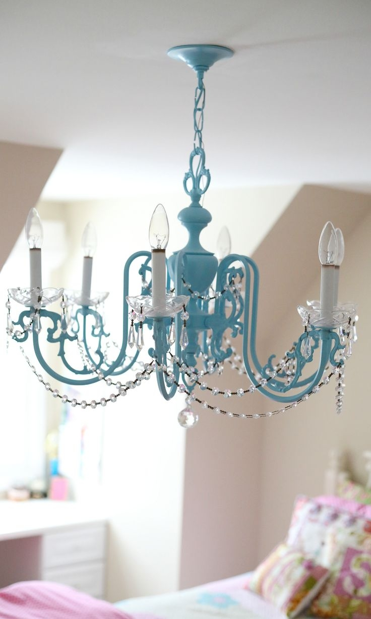 Top 25 Best Girls Chandelier Ideas On Pinterest Mobiles Girls With Regard To Turquoise Bubble Chandeliers (Image 24 of 25)