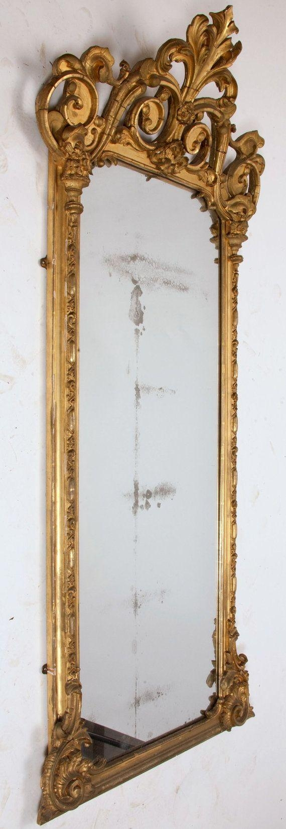 Top 25+ Best Large Gold Mirror Ideas On Pinterest | Painting Within Baroque Mirror Gold (View 13 of 20)